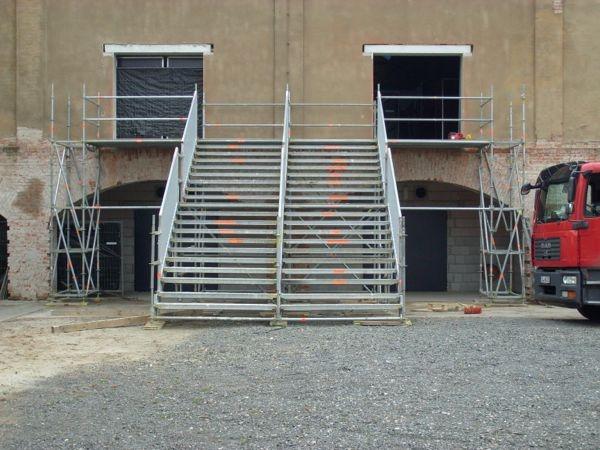 Treppenanlage für Event