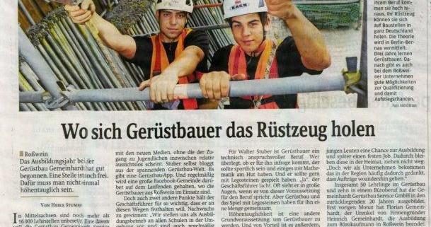 Zeitungsauschnitt DA 13.08.2014