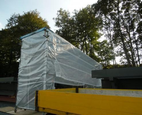 Fahrbares Wetterschutzdach