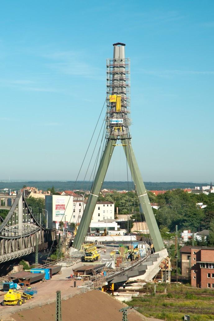 Sondergerüst Brückenpfeiler