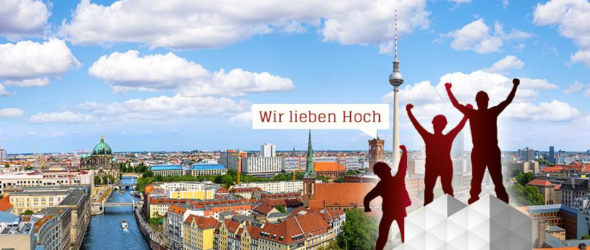 Gerüst vor Berlin Panorama