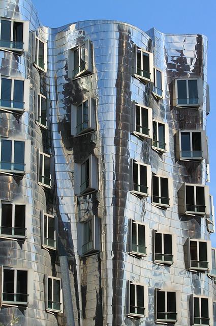 Gehry Haus Fassade Düsseldorf