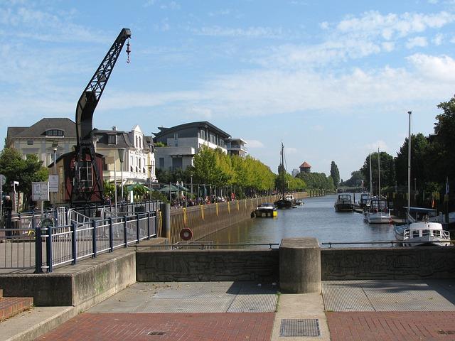 Kran in Oldenburg