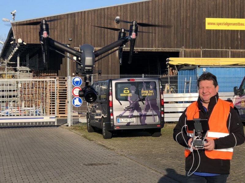Drohnenvermessung mit der Gemeinhardt Service GmbH