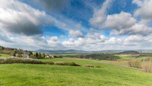 Schöne Landschaften in Mittelsachsen