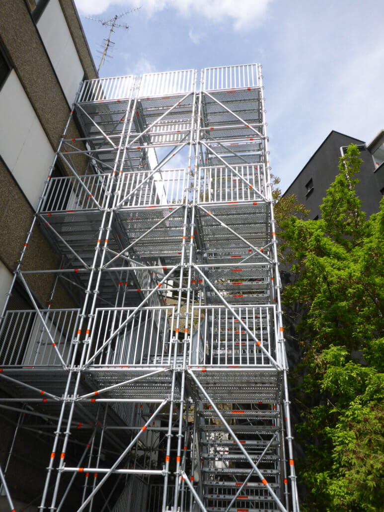 Rettungstreppe 2